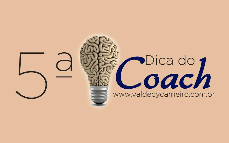 Dica do Coach 5